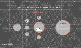 Automation-Based Unemployment