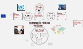 Internationella relationer FINEK14