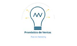 Copy of Pronóstico de Ventas