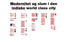 E2012 K1 Modernitet og slum  i den indiske world class city