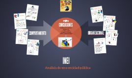 INEI - Comportamiento Organizacional
