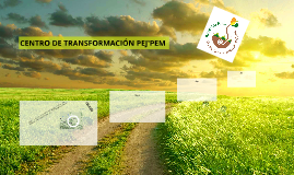 CENTRO DE TRANSFORMACIÓN PEJ'PEM