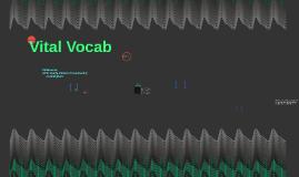 Vital Vocab
