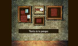 Copy of Teoría de la pangea