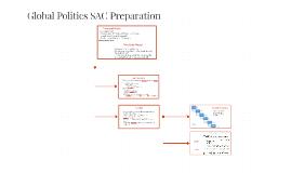 Global Politics SAC Preparation