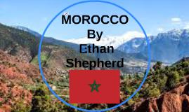 MOROCCO BY ETHAN SHEPHERD