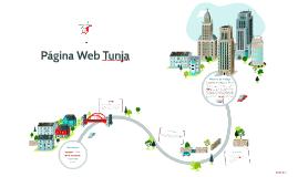 Página Web Tunja
