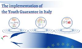Copy of Youth Guarantee, Italian experience