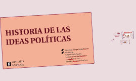 IDEAS POLÍTICAS