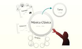 Copy of Música Clásica Géneros y Formas