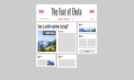 Copy of The Fear of Ebola