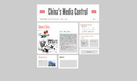 China's Media Control