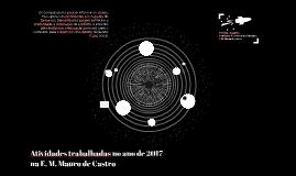 Professora de Inforática Educativa na E. M. Mauro de Castro