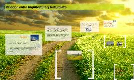 Copy of Relación entre Arquitectura y Naturaleza