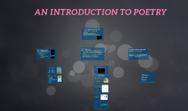 Copy of AN INTRODUCTION TO POETRY