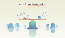estudio socioeconómico