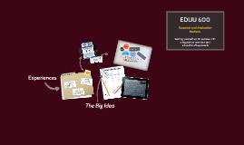 Dr. Nichols' EDUU 600: Live CLass Meeting