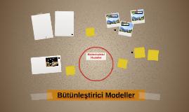Bütünleştirici Modeller
