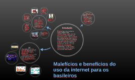 Malefícios e benefícios do uso da internet para os basileiro