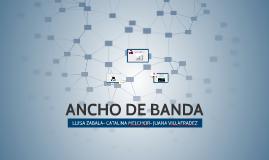 ANCHO DE BANDA