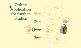 Online Application for further studies