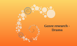Genre research - Drama