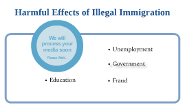 the effect of illegal immigration Few of them differentiate between legal and illegal immigrants the state budgetary impact of undocumented immigration could go from less than half a billion in.