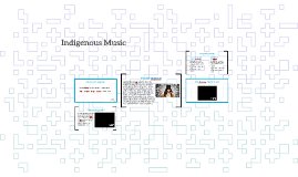 Copy of Indigenous Music