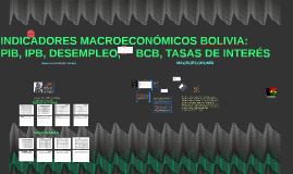 Copy of INDICADORES MACROECONÓMICOS BOLIVIA: PIB, IPB, DESEMPLEO.