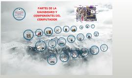 """PRUEBA DE CONOCIMIENTOS """"PARTES DE LA MAINBOARD Y COMPONENTES DEL COMPUTADOR"""