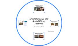 Environmental and Social Ethics Portfolio