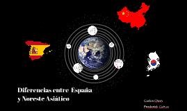 Diferencias entre España y Asia