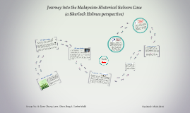 Journey into the Malaysian Historical Salvors Case