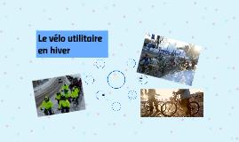 Le vélo utilitaire en hiver