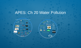 APES: Ch 20 Water Pollution