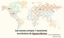 Los nuevos campos / vocaciones económicas de Aguascalientes