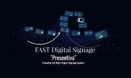 FAST Digital Signage