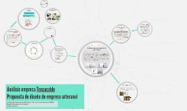 Empresa Tensocable- Propuesta de diseño empresa artesanal