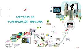 METODOS DE PLANIFICACION FAMILIAR