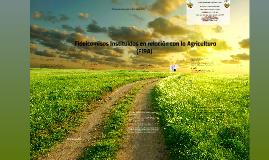 Copy of Fideicomisos Instituidos en relación con la Agricultura (FIR