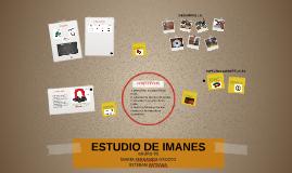ESTUDIO DE IMANES