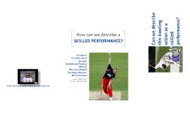 Skilled Performance