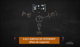 Copy of LAS CABINAS DE INTERNET