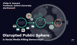 Disrupted Public Sphere:  Is Social Media Killing Democracy?