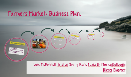Farmers Market: Business Plan. by small business enterprise and ...