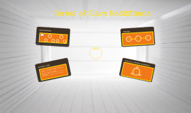 Forms of Slave Resistance