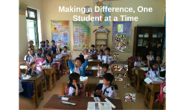 Making a Difference, One Student at a Time