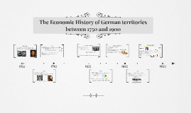 Economic History of German territories (1750-1900)