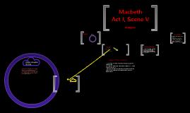 Macbeth Act 1 Scene 5 Commentary
