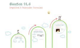 Copy of Percent Composition & Empirical Formulas